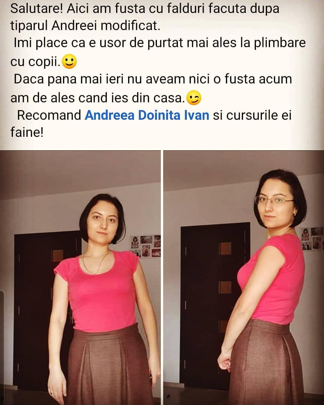 Curs online de tipare fusta _#summersewing #sew #fusta #fioreskirt #croitorie #pasiune #passion #sewing #pattern #fashion #fashionista #romania #feminitate